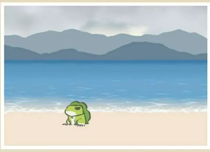 蛙大不由娘,也不知道它天天在干啥…
