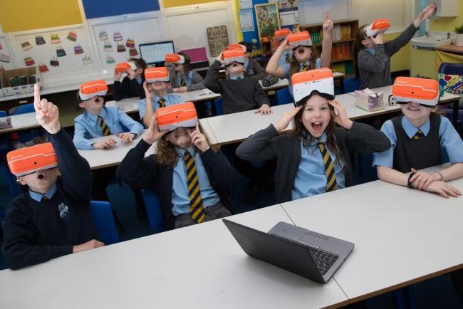 【VR+教育】苏格兰为学校提供VR眼镜 用于课堂教学