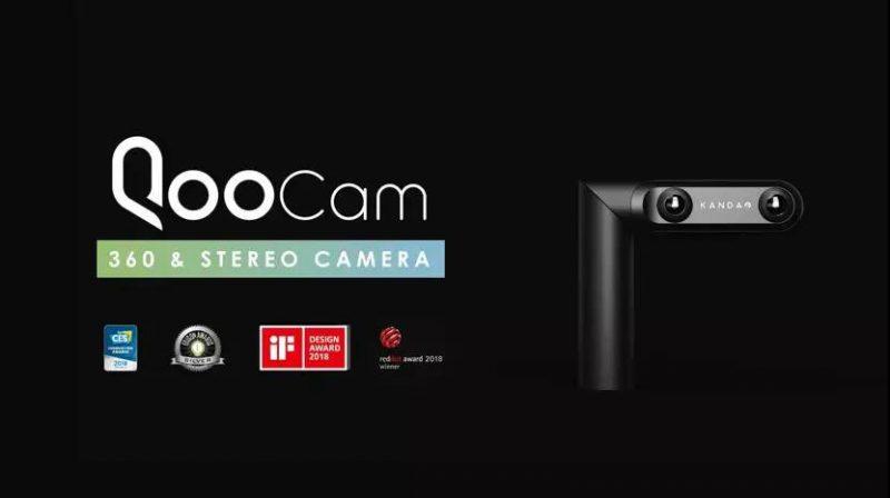 """三镜头""""3D/全景相机QooCam:人人都可以成为VR摄影大师"""