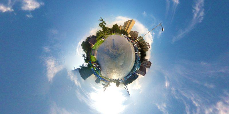 怎么制作360全景图片