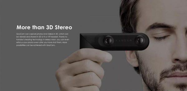 QOOCAM 3D Stero