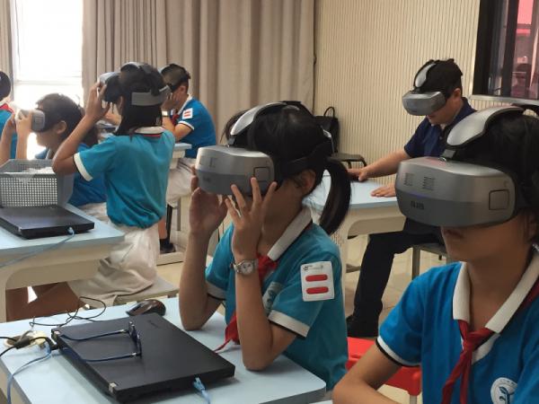北京威尔文教科技 农大附小VR教学案例