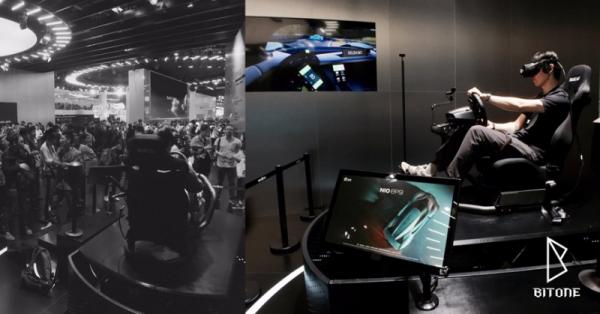 BITONE打造的蔚来EP9超跑 VR虚拟驾驶项目